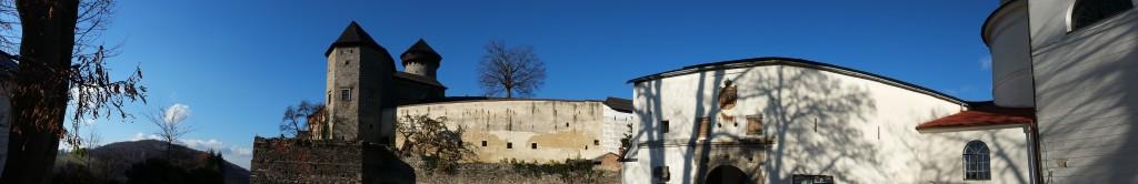 Apartmány Panorama Jeseníky hrad Sovinec