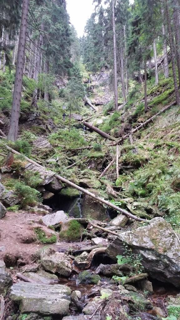 Vysoký vodopád - je málo vody