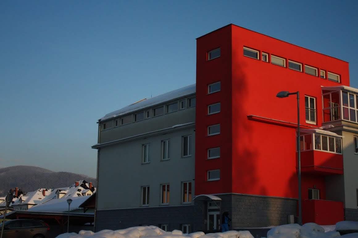 Apartmány Panorama Jeseník zima